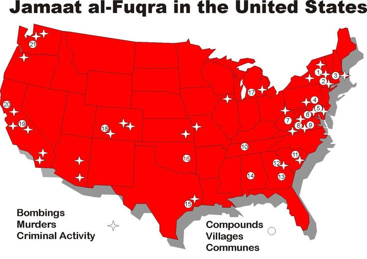 Will Your City or State be the Next San Bernardino? At Least 22 Verified Islamic Terror Training Camps in US – All Under the Watchful Eye of the FBI