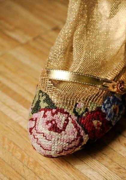 Берлинская вышивка и высокая мода. \Dolce и Susanna Bisovsky - Разное (мода) - Мода и стили - Каталог статей - ЛИНИИ ЖИЗНИ