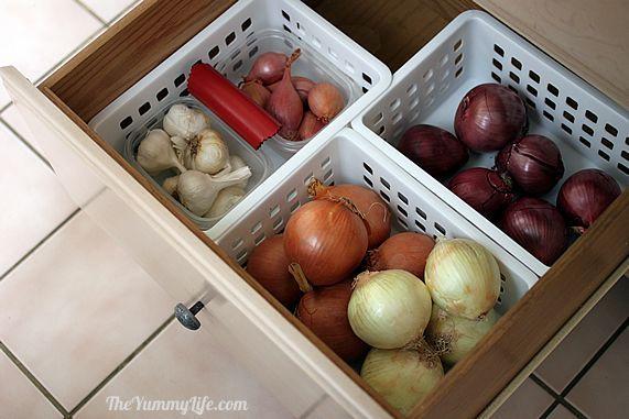 how to keep sliced onions fresh