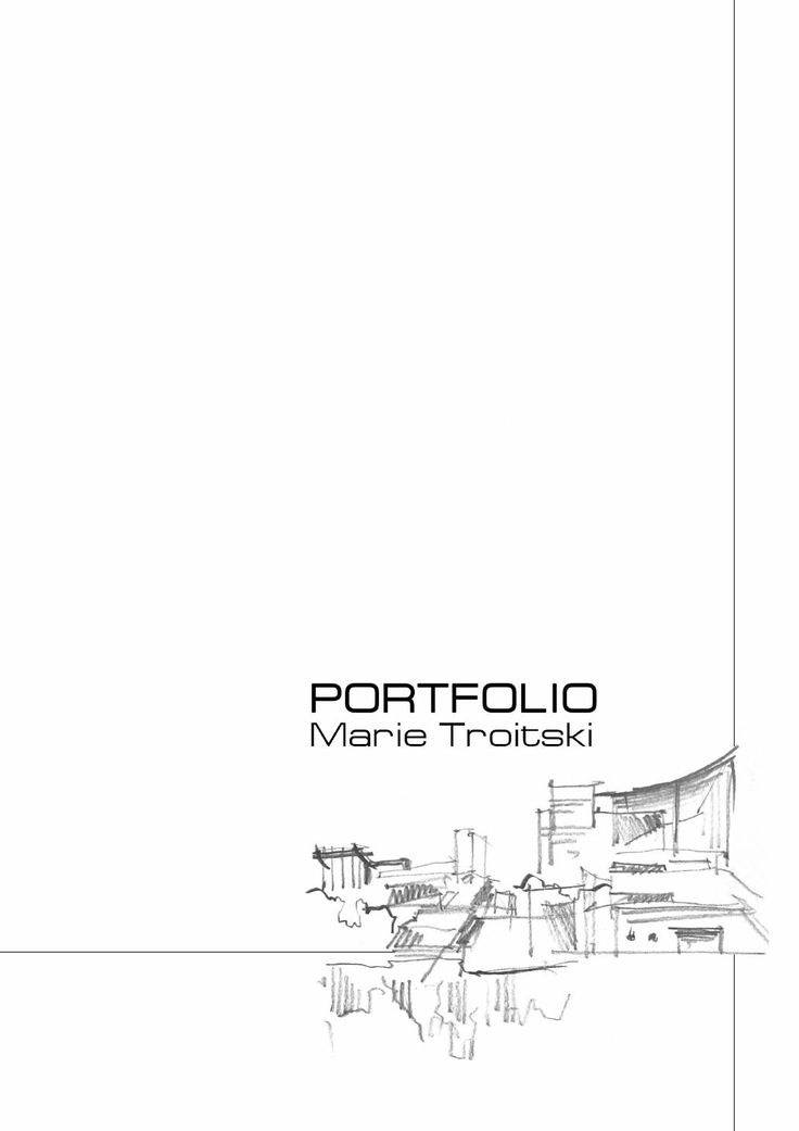 Best Portfolios De Arquitectura Images On   Portfolio