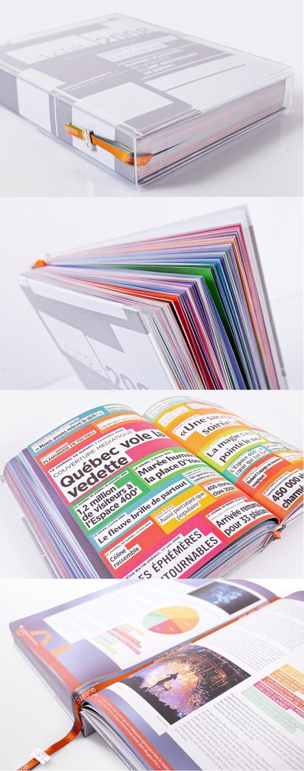Client : La Bible du 400e - Design graphique, outils corporatifs.