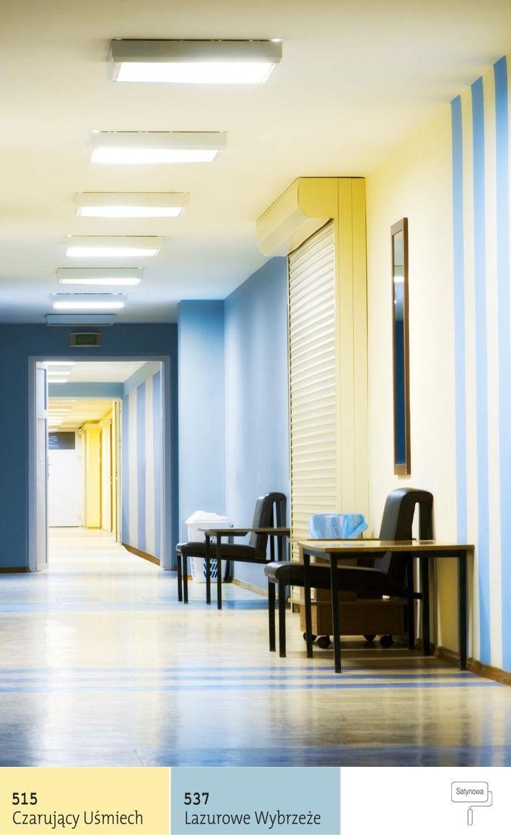 Barwy dopełnijące (kolory ścian) wbiurze