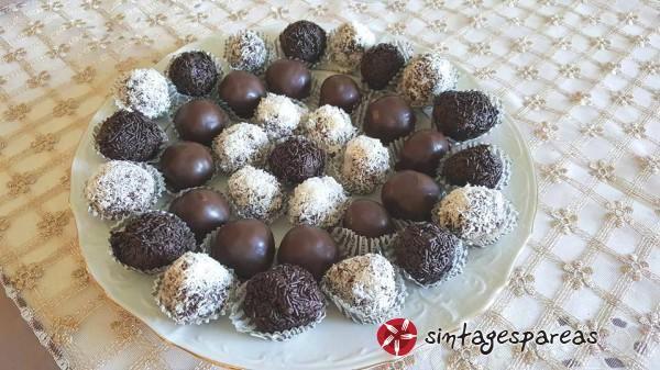 Θεϊκές σοκολατένιες μπουκίτσες #sintagespareas