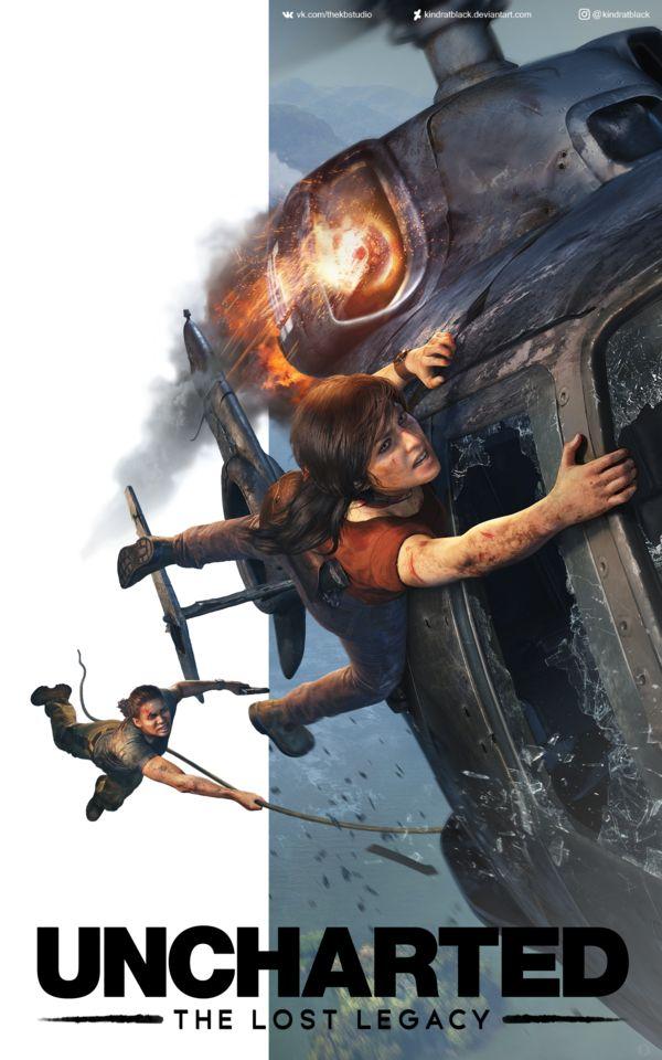 Uncharted The Lost Legacy by KindratBlack.deviantart.com on @DeviantArt