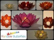 Gorgeous Lotus tea light holders