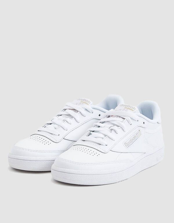 Club C 85 White Light Grey Bs7685 Reebok Shoes Women White Reebok Reebok Club C