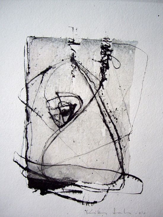 Kitty Sabatier. #Art #Grey #Abstract