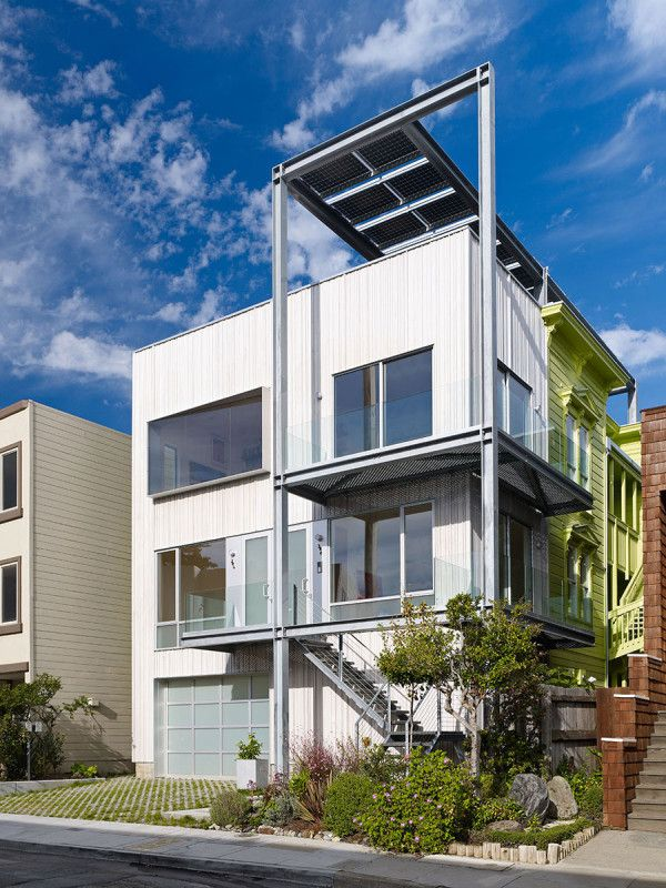 Real estate, modern design and the changing face of San Francisco. Photo by Bruce Damonte for Craig Steely Architecture