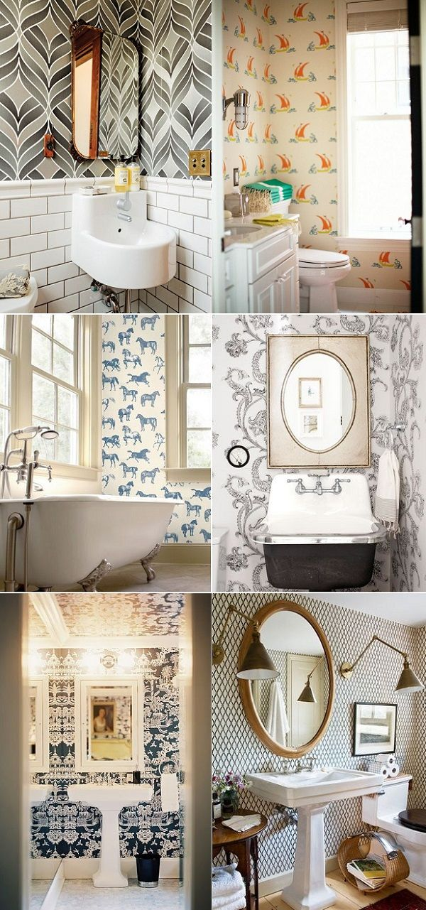 exPress-o: Funky Bathroom Wallpaper: Thumbs up or down?
