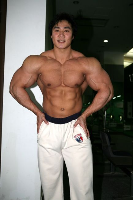 lee seung chul   uc774 uc2b9 ucca0  korean bodybuilder