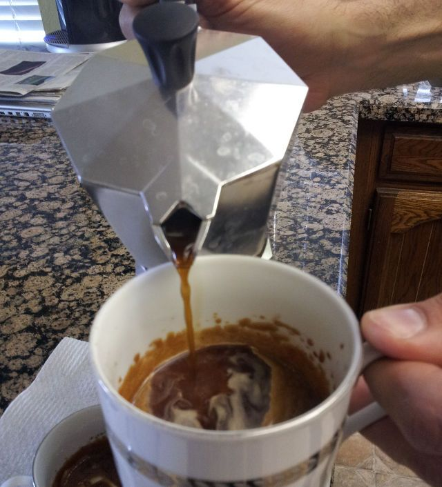"cuban-coffee, I did alot of research to figure out what ""carmelized sugar"" was, this is the perfect recipe - but you can do it with any espresso maker"