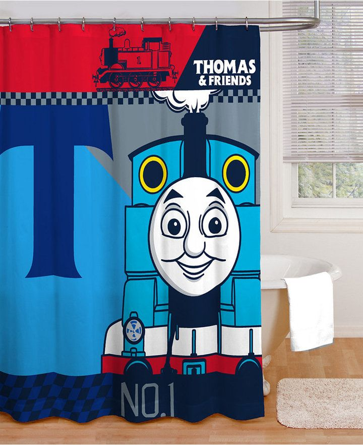 Jay Franco Thomas the Tank Engine Shower Curtain Bedding