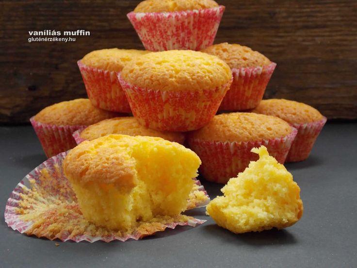 Vaníliás gluténmentes muffin egyszerűen A muffin egy nagyon sokoldalú gluténmentes sütemény. Fogyaszthatjuk reggeli italunk mellé, ebéd utáni desszertnek, vihetünk magunkkal tízórainak.