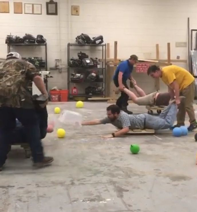 Need a new game for a chapter meeting? Try hungry, hungry hippos. Harlem FFA - www.OneLessThing.net