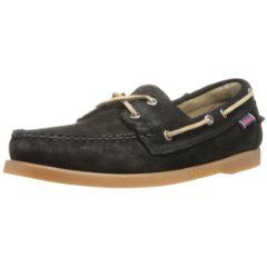 Rawhide laces, a slotted collar, traditional moccasin stitching all keep this casual classic looking sharp!  Made by one of the best known manufactures of men's boat shoes.