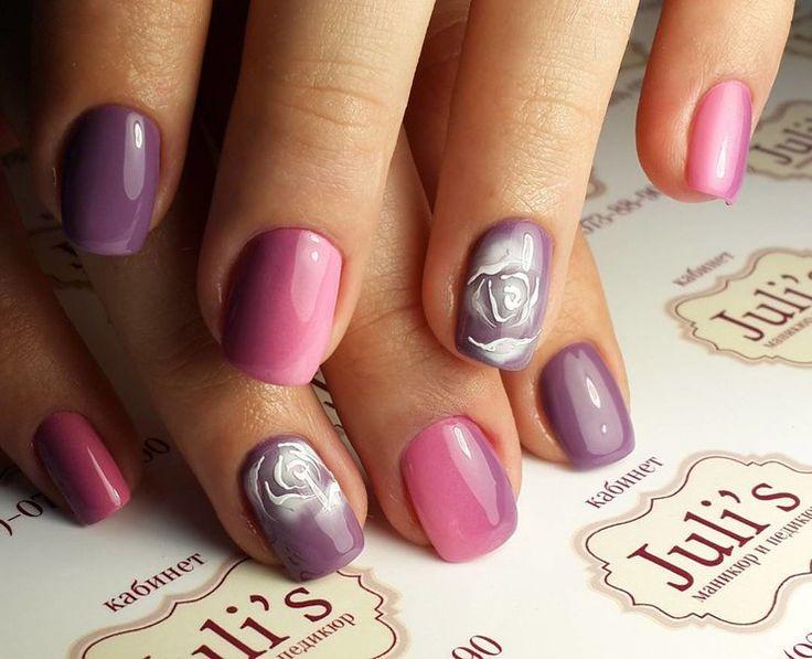 Аэрография на ногтях: модный тренд в маникюре набирает обороты | Журнал Cosmopolitan