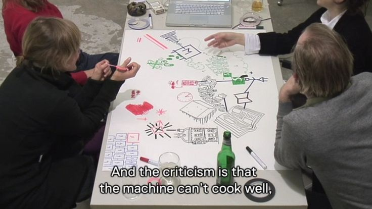 On the 28th of October, 2008, Luna played Conditional Drawings with Berlin designers