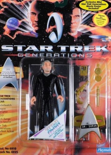 Star-Trek-PLAYMATES-4-5-inch-figure-Generations-1994-Dr-Soran-NEW-Never-Opened