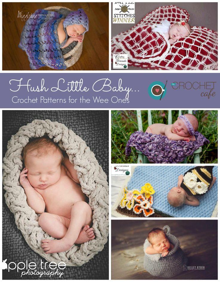 Hush Little Baby - Newborn Photo Prop Blankets