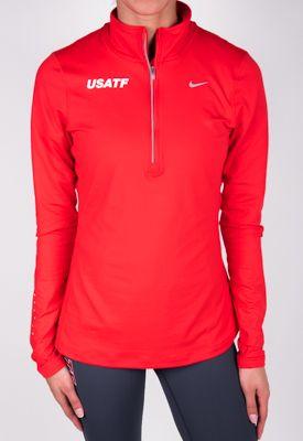 Nike USATF Women's Element Half-Zip