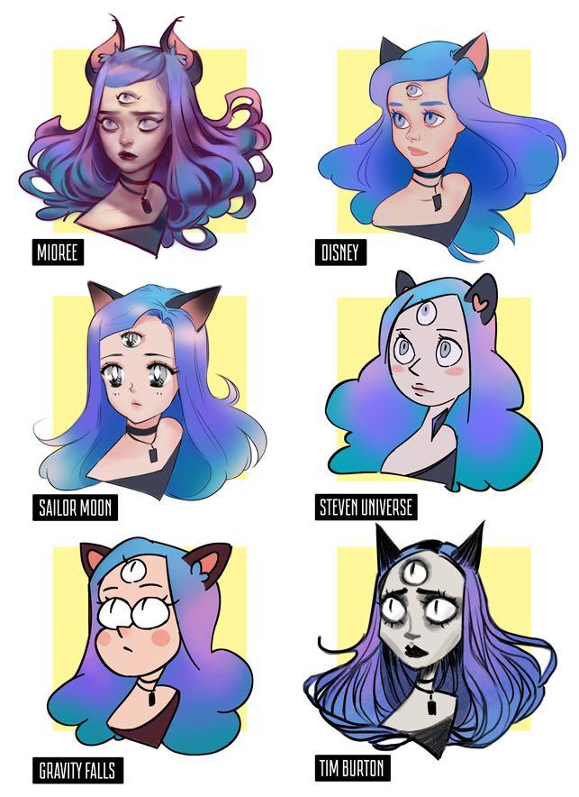 Style Challenge By Mior3e On Deviantart Fantasy Art Art Style