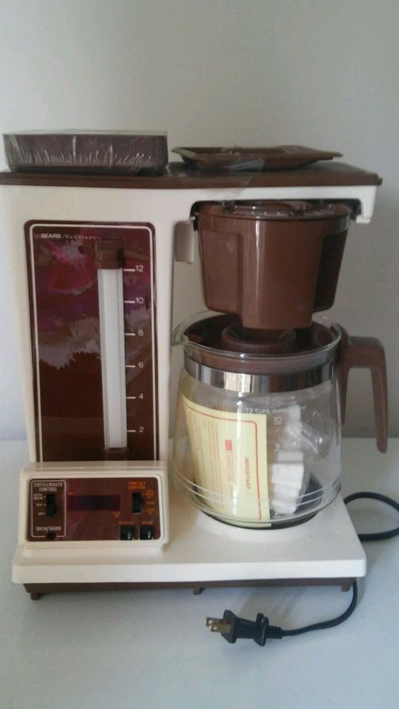 Coffee Maker Cooking Hacks : Vintage Sears Kenmore Automatic Coffee Maker 12 cup New #Kenmore East Hill Kitchen Pinterest ...