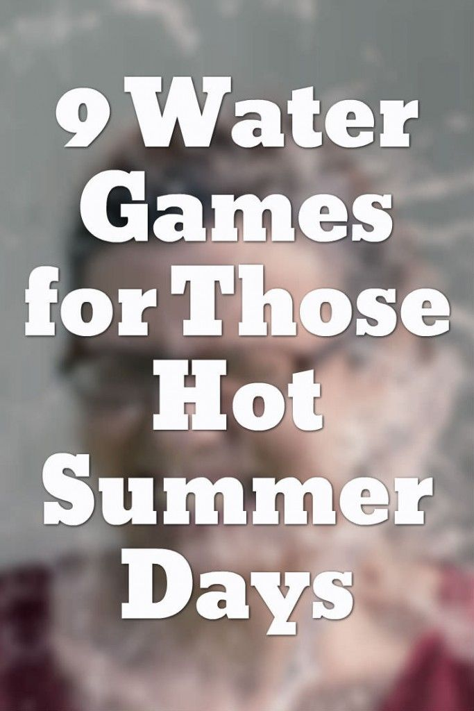 When it's hot outside, everyone wants to find a fun way to cool down. Why not play an action packed water game to let off some of that steam? Here are a list of 9 super fun water games that will definitely cool you off! Toss The Balloon Relay In this game, teams all stand [...]
