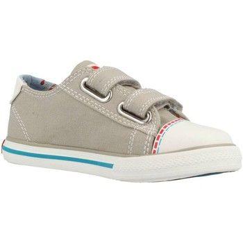 toffe Pablosky 932650 jongens sneakers (Bruin)