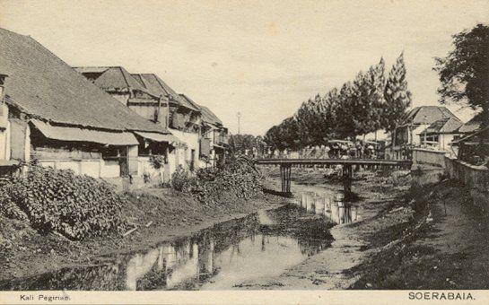 Kali Pegirian Soerabaja 1900-1950.