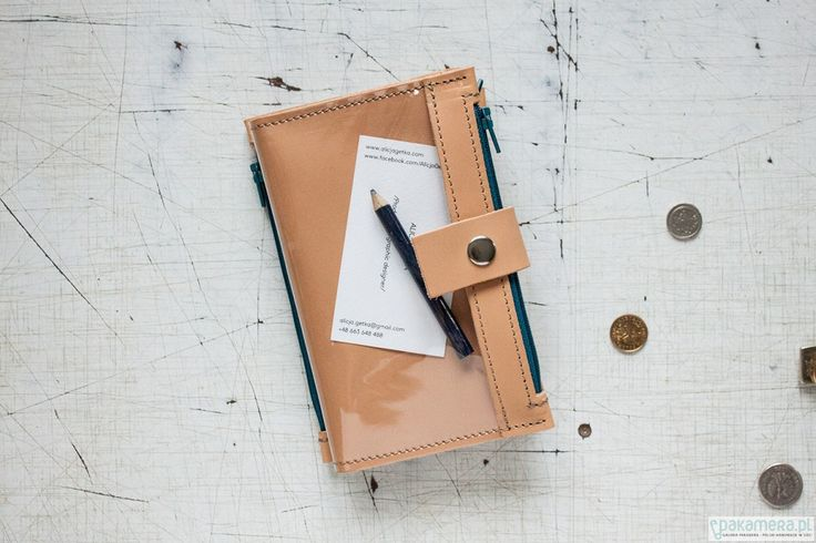 portmonetki-Portfel - Pocket BIG / Caramel BLU