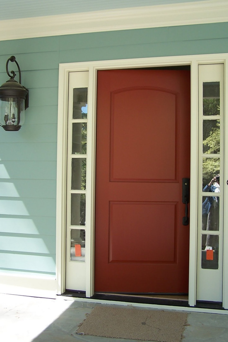 26 best images about painting projects on pinterest for Exterior back doors for home