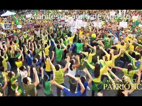 Dança do Impeachment- Manifestação Fortaleza 16/08