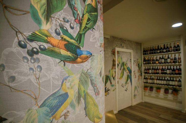 wallpaper#colors#surface#LondonArt#wall#brasilian#restaurant#interior#design#genoacity#dlastudio#designlab
