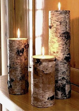 natural candlestick
