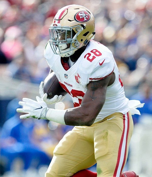 Carlos Hyde tore his MCL and will miss remaining game