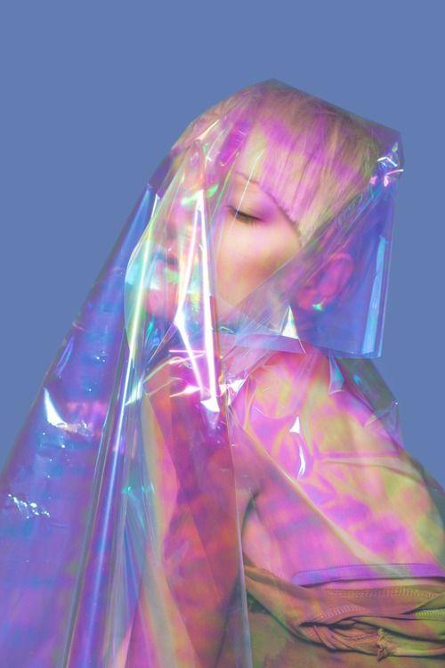 .. via Tumblr #pastel #grunge #model #style #pale #fashion #hologram #color #instafollow #tagforlikes
