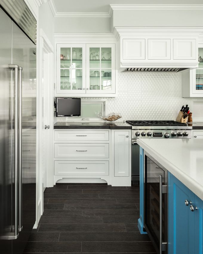 34 Best Images About White Kitchens With Turquoise Islands On Pinterest Benjamin Moore