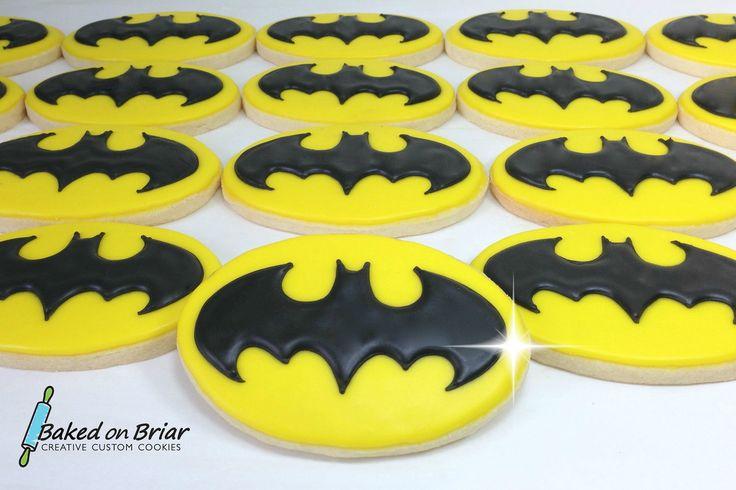 Batman Cookies | by Baked on Briar