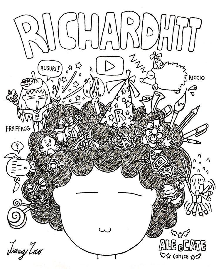 Richardhtt - artista/fumettista & youtuber