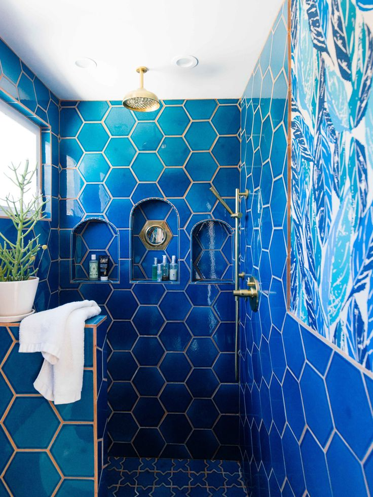 Best 25 Blue Tiles Ideas On Pinterest Fireclay Tile