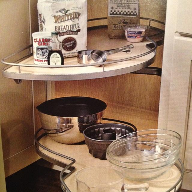 images about kitchen corner cabinets on pinterest: organizer drawer showplace kitchen convenience accessories