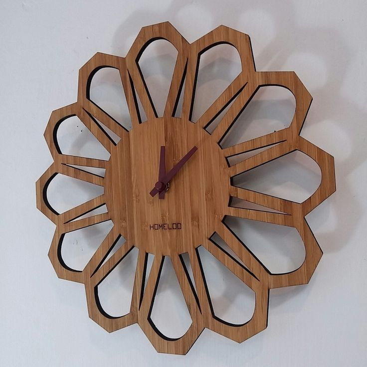 New set of retro brown clock hand