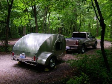 43 best camping images on pinterest campsite sailor knot and homemade camping trailers campers take do it yourself to a whole new level solutioingenieria Gallery