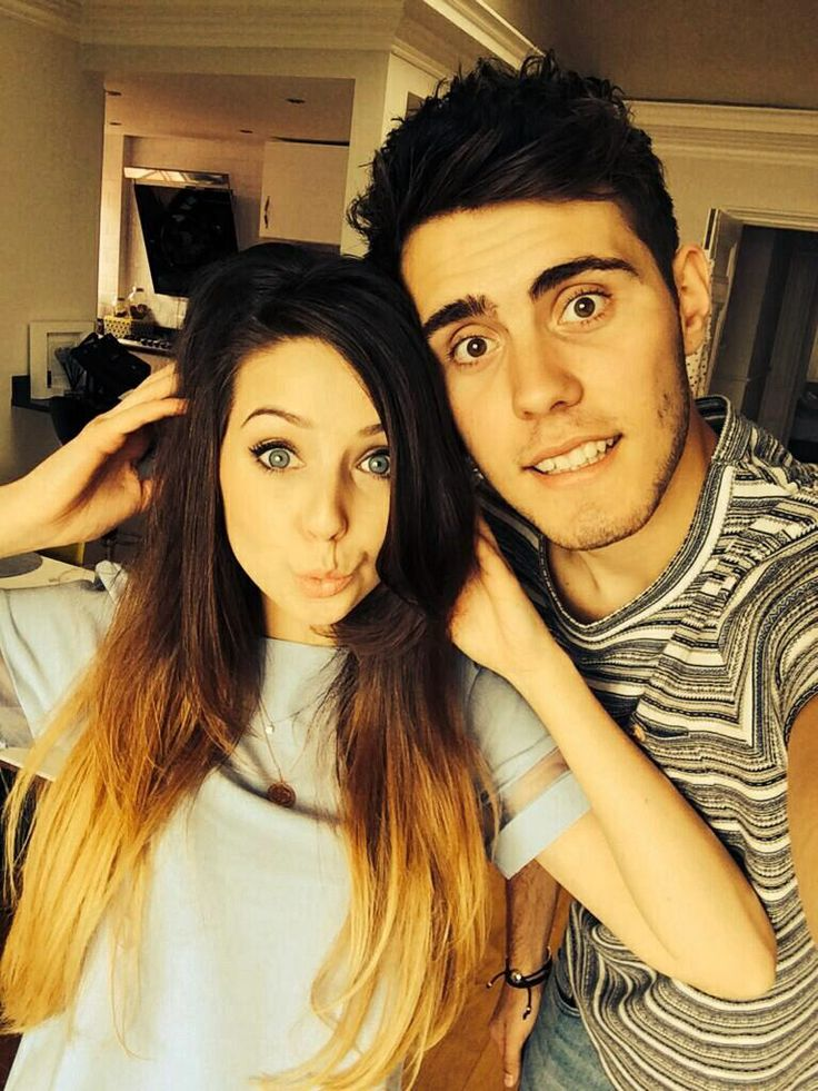 #ZALFIE Zoella and Alfie