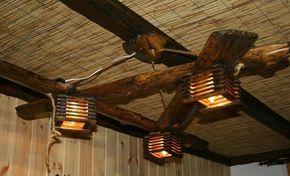 Отличное решение создать интересный вариант деревянной люстры, что станет изюминкой любого интерьера.