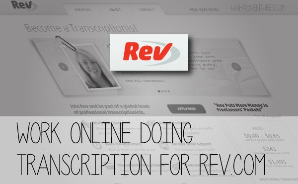 Recently I applied to become a transcriptionist with Rev Transcription.  Though I wasn't accepted, I wanted to share what I found out about the company. What is Rev Transcription? Rev Transcription is another company that provides transcription work to people who work from home.  It was founded by two former oDesk employees, Jason Chicola and …