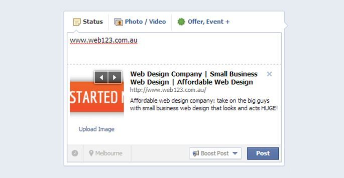 A Small Business Guide to Getting the Most Out of Facebook Pt.4 					http://www.web123.com.au/blog/a-small-business-guide-to-getting-the-most-out-of-facebook-pt-4.aspx