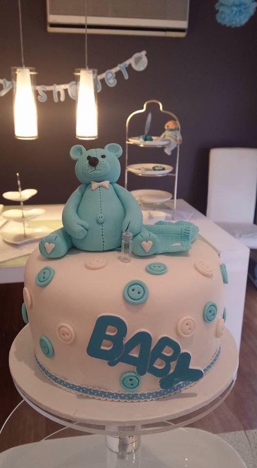 Baby Shower cake...baby boy