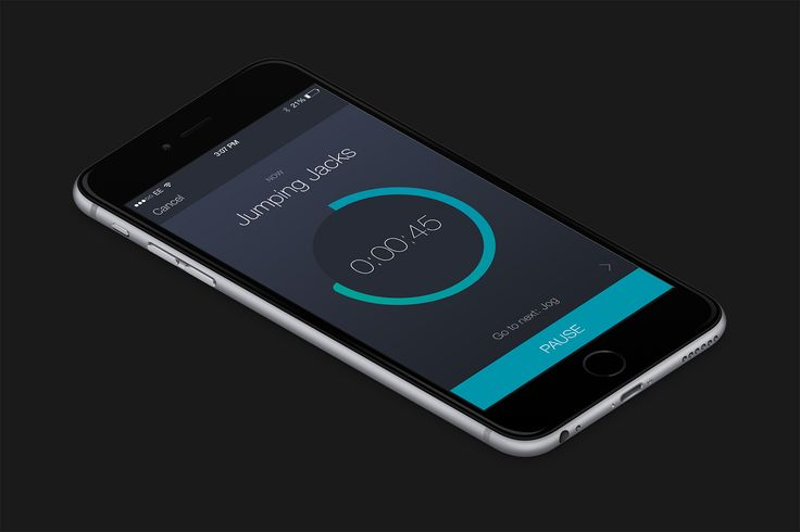 Design #89 di Kyril | Create modern, flat UI design for timer app