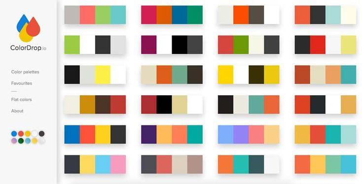 ColorDrop.io a été imaginé par le développeur Danois Tristan White, c'est un site qui propose des palettes de couleurs afin de vous donner des idées sur des possibles accords. Vous cliquez sur la palette qui vous plait, et le code Hexa ainsi RGB vous est proposé, et si une palette vous plait v…